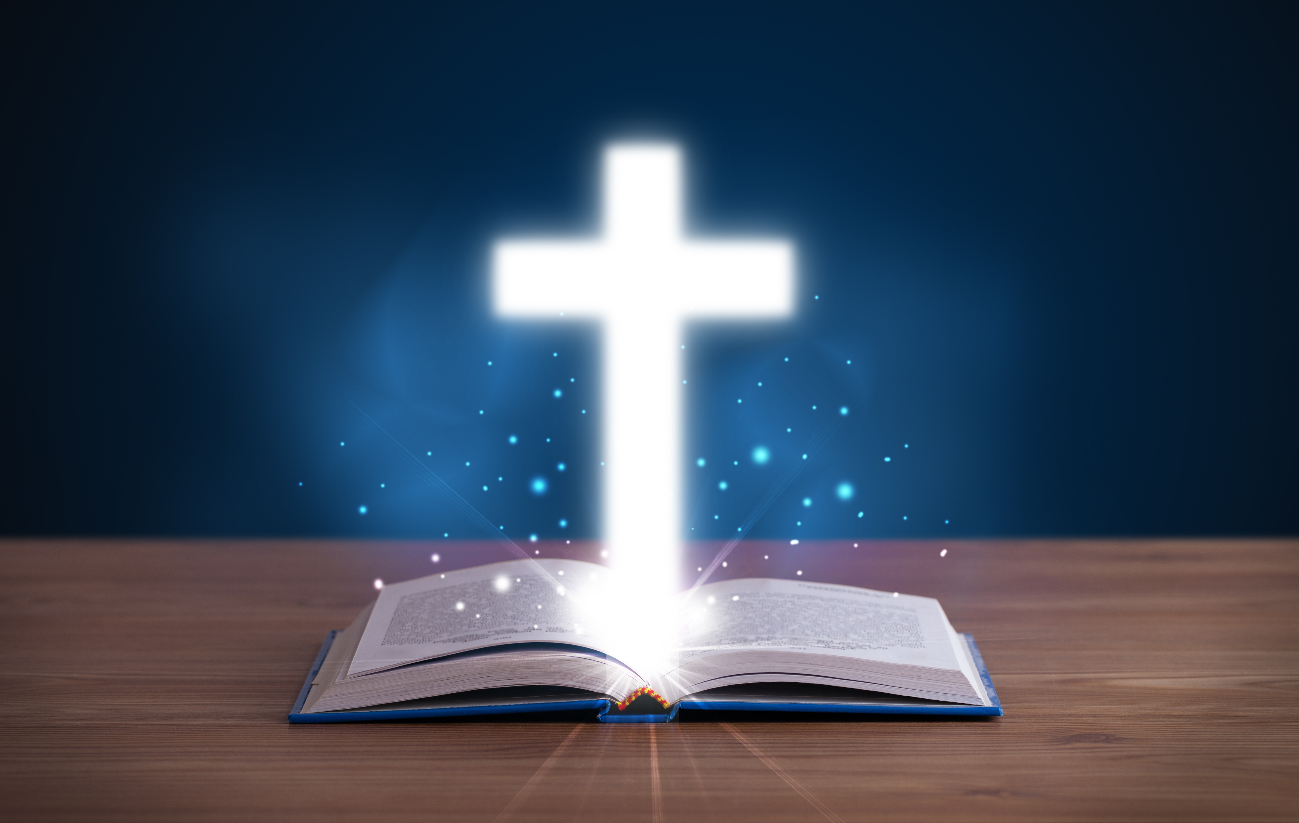 cross and the bible - photo #35